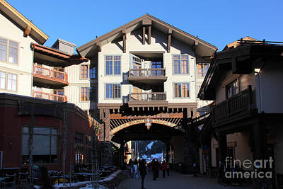 The Village At Squaw Valley Usa 5d27698 Art Print