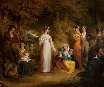 The Village Bride Art Print by Richard Westall
