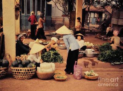 Photograph - The Village Market by Mel Steinhauer