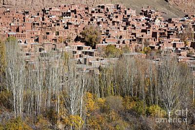 The Village Of Abyaneh In Iran Print by Robert Preston