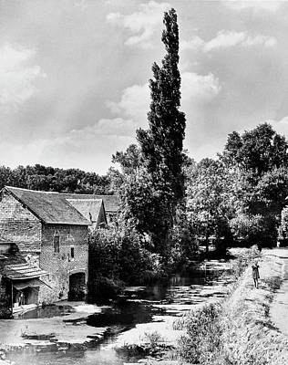 Chartres Photograph - The Village Of Illiers-combray In France by Erwin Blumenfeld