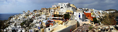Wall Art - Photograph - The Village Of Oia by Jack Daulton