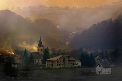 Photograph - The Village by Zoran Buletic