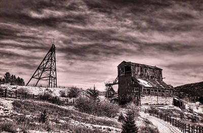 Photograph - The Vindicator Mine by Ken Smith