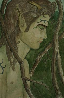 Painting - The Vine King by Carrie Viscome Skinner