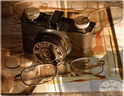 Books Photograph - The Vintage Falcon by Steven Digman