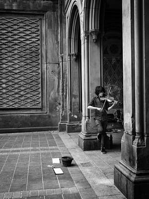 Photograph - The Violinist by Cornelis Verwaal