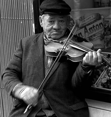 The Violinist Art Print