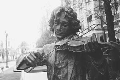 Music Photograph - The Violinist  by Joana San Jose
