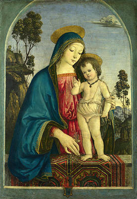 Painting - The Virgin And Child by Pintoricchio