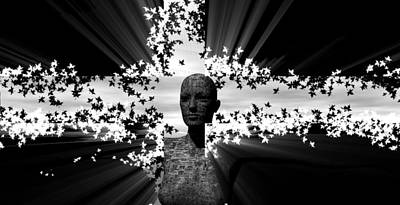Digital Art - The Vision by A Dx