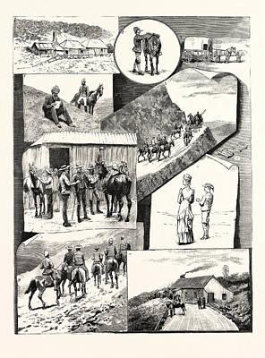 Choosing Drawing - The Visit Of H.e. Sir H. Brougham Loch, K.c.b. Governor by Australian School