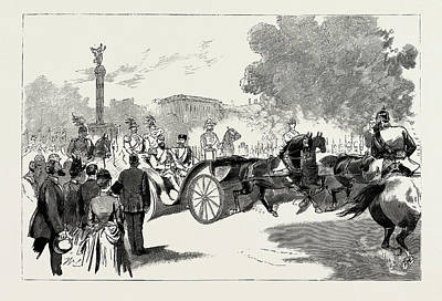 Berlin Drawing - The Visit Of The Czar To The German Emperor At Berlin by Litz Collection