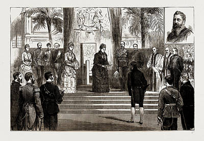 The Visit Of The Queen To Liverpool, Uk, 1886 The Opening Art Print