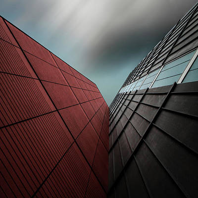 Grid Photograph - The Visor by Gilbert Claes