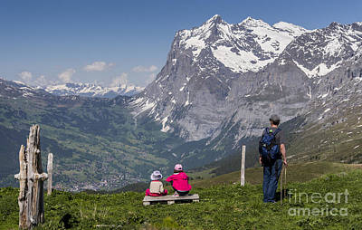 Mountain Photograph - The Vista by Ning Mosberger-Tang