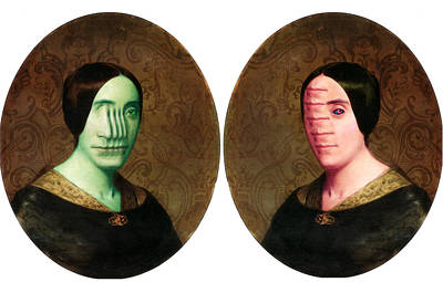 Photograph - The Vitruvian Sisters by John Magnet Bell
