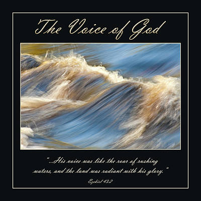 Photograph - The Voice Of God by Carolyn Marshall