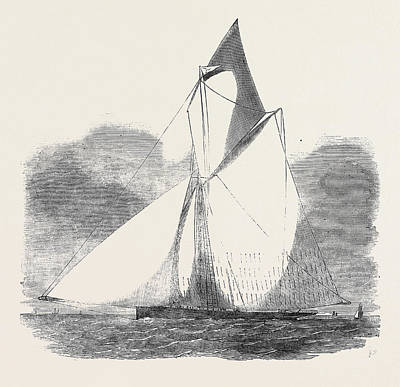 The  Volante, Winner Of The Royal Thames Yacht Club Grand Print by English School