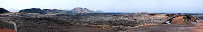 Photograph - The Volcanic Badlands Of Timanfaya Natural Park Lanzarote by Weston Westmoreland