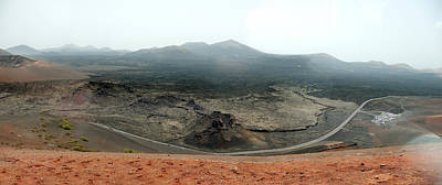 Photograph - The Volcanic Wastelands Of Timanfaya Natural Park by Weston Westmoreland