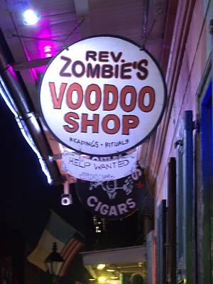 Voodoo Shop Photograph - The Voodoo Shop Swign by Anthony Walker Sr