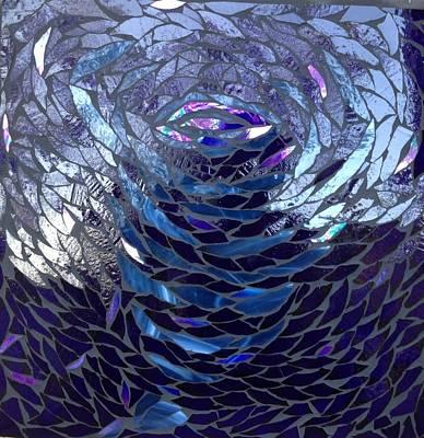 The Vortex Art Print by Alison Edwards