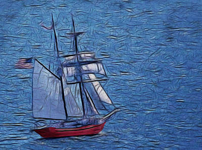 Digital Art - The Voyage Digital Art by Ernie Echols