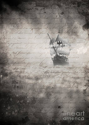 Photograph - The Voyage by Edward Fielding