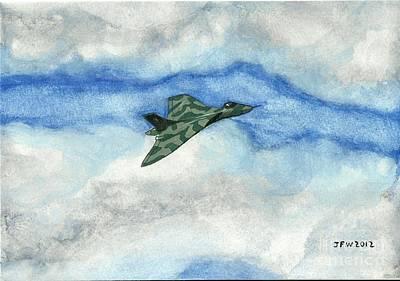 The Vulcan Bomber Art Print