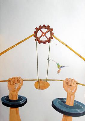 The Vulnerable Part Of Mechanisms Original by Lazaro Hurtado