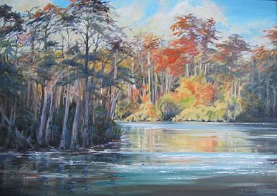 The Waccamaw At Bucksport Art Print