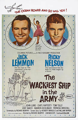 Ricky Photograph - The Wackiet Ship In The Army, Us Poster by Everett