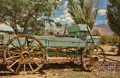 Photograph - The Wagon 2 by Peggy Hughes