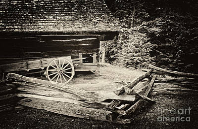 Photograph - The Wagon by Paul W Faust -  Impressions of Light