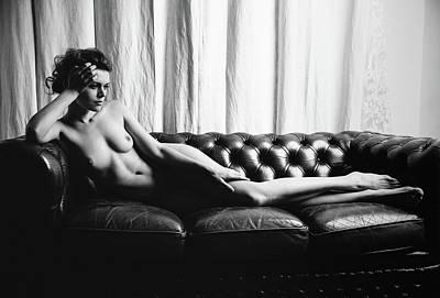 Bodyscape Art Photograph - The Waiting by Sean Glacio