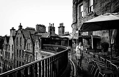Scotland Wall Art - Photograph - The Waitress by Julien Oncete