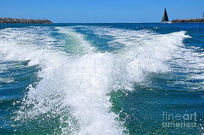 Photograph - The Wake by Kaye Menner