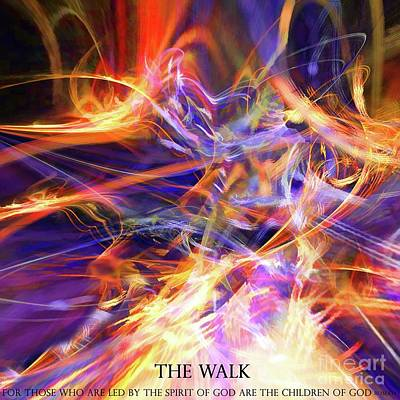 Digital Art - The Walk by Margie Chapman