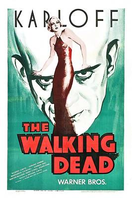 The Walking Dead Poster Art Print by Gianfranco Weiss