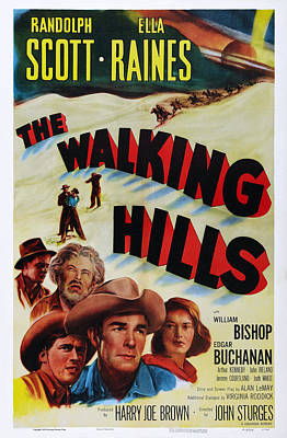 The Walking Hills, Us Poster, From Left Art Print by Everett