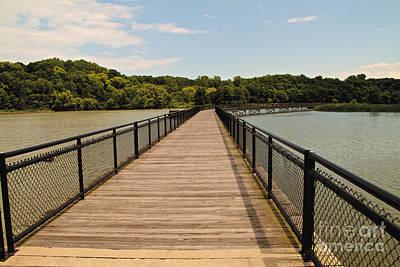 Photograph - The Walkway Bridge by William Norton