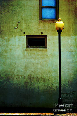 Photograph - The Wall And The Lamppost by Kathleen K Parker