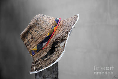Photograph - The Wall Builder's Hat by Nola Lee Kelsey