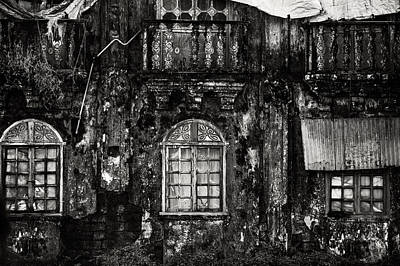 Photograph - The Wall Of The Old Goan House. Margao. India by Jenny Rainbow