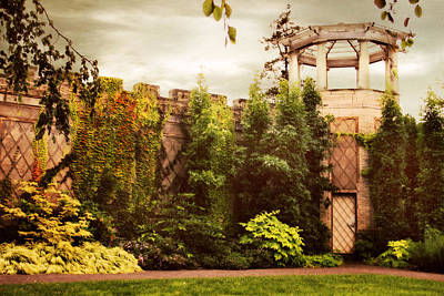 Tower Digital Art - The Walled Garden 2 by Jessica Jenney