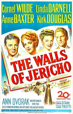 The Walls Of Jericho, Us Poster Art Print