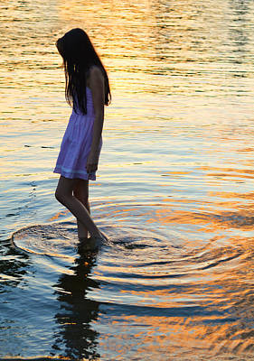 Reflections In Water Photograph - The Wanderer by Laura Fasulo