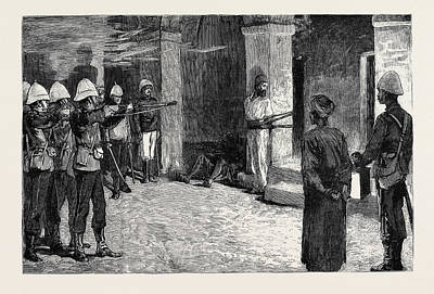 The War In Egypt The Naval Occupation Of Alexandria Art Print
