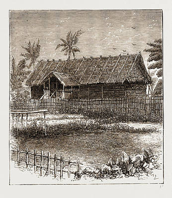The War In The Malay Peninsula, 1876 Temporary Residency Art Print by Litz Collection